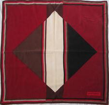 -Authentique Foulard  PIERRE BALMAIN   soie  TBEG  vintage Scarf  88 x 92 cm