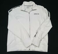 Vintage Umbro Full Zip Warm Up Soccer Jacket size Large white