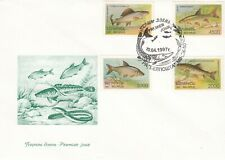 BELARUS FDC - FAUNA - FISH - 1997 First Day of Issue MNH