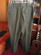USMC Marine Corps Dress 34x27 Uniform Green Shade 2212 Trousers Pants