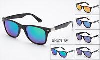 12 Pairs New Unisex Fashion Plastic Sunglasses Flash Mirror Wholesale