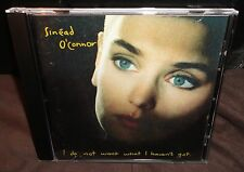 Sinead O'Connor - I Do Not Want What I Haven't Got (CD, 1989)