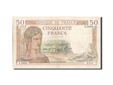 Billets, 50 Francs type Cérès #205067