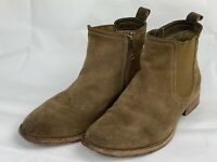 Johnston and Murphy Tan Brown suede chelsea boots size 7 M Women Boots