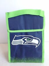 Seattle Seahawks Insulated Lunch Sack Bag Cooler NFL Football Licensed Product