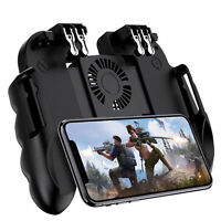 Finger Shooter PUBG Mobile Gaming Gamepad Cooling Fan Joystick For Android IOS