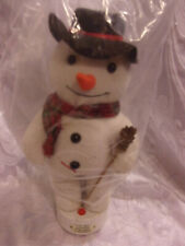 North Pole Production Frosty Snowman Singing 12