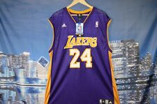 ADIDAS Brand New Los Angeles Lakers Kobe Bryant #24 Jersey Size XL