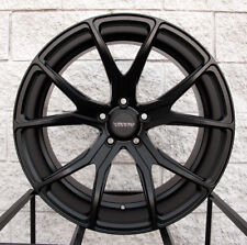 """22"""" Varro VD01 Staggered Wheels 22x10.5/22x12 BMW X5 X6 X5M X6M - Satin Black"""