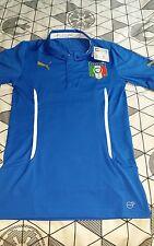 Italy Italia Puma Mens S/S Home Football Shirt - Large - Blue - BNWT