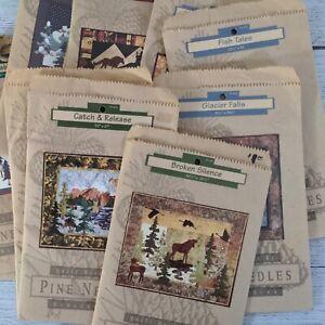 Vintage Pine Needles Patterns Quilt Designs by Mckenna Ryan 107-603