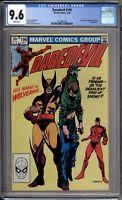 Daredevil 196 CGC Graded 9.6 NM+ Wolverine Marvel Comics 1983