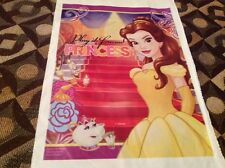 DISNEY BELLE  BEAUTY AND THE BEAST 20 PC PARTY LOOT  CANDY BAGS, SPANISH VERSION