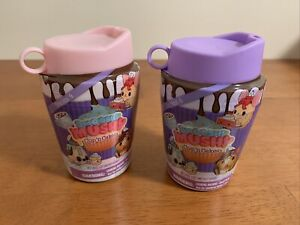 SMOOSHY MUSHY Series 4: Cup'n Cakes Scented Squishy Surprise Cups Set of 2