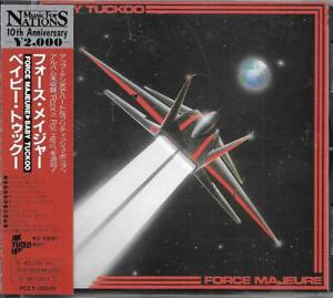 BABY TUCKOO Force Majeure Japan Cd Obi 1994 Music for Nations PCCY-00528 Nwobhm