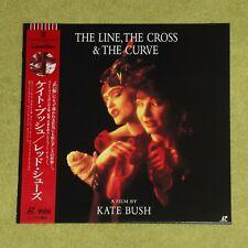 KATE BUSH The Line, The Cross And The Curve - RARE 1994 JAPAN LASERDISC + OBI