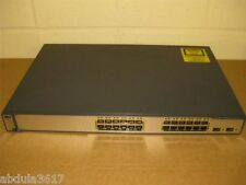 Cisco 3750-24TS-S with Brackets with Latest IOS Cisco Catalyst C3750-24TS-S
