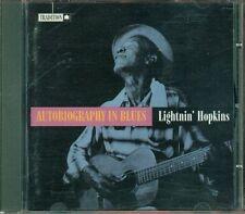 Lightin' Hopkins - Autobiography In Blues Cd Ottimo