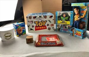 Disney Pixar 1995 Toy Story Movie Exclusive Promo Box With Original Toys! RARE