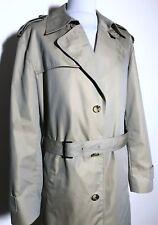 Mens Hugo Boss Beige Tan Long Mac Coat Size XL LENZO Edition *RRP £595* 8-536