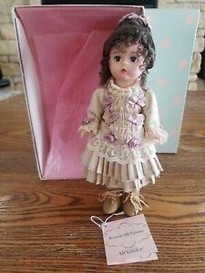 "2001 Madame Alexander 8"" Alexander-kin Keepdake Silk Victorian Doll MIB #28725"
