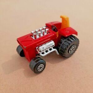 Matchbox Lesney No.25 Red Cobra Mod Tractor 1972.