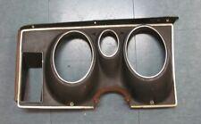 1971-73 Mustang Original/Used Deluxe Dash Gauge Cluster Bezel