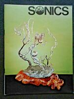 VINTAGE 75-76 Seattle SONICS Magazine Malcolm Moran Sculpture on Cover