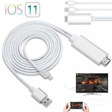 2m 8Pin Lightning to Digital AV TV HDMI Kable Adapter für iPhone X 8 XS XR iPad