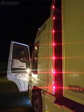 To Fit Volvo FH Series 2 & 3 Globetrotter XL Perimeter Wind Kit Strips + LED