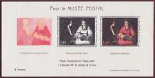 1966 FRANCE BLOC 1479b** BF MUSEE POSTAL Georges de la Tour Tableau, Sheet MNH
