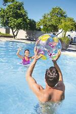 "Inflatable Beach Ball 20 Inch Large Splash & Play 20"" Random Deisgn Sent"