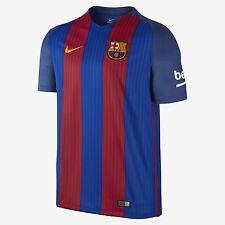 Nike 16/17 F.C. Barcelona Stadium Home Men's Soccer Shirt  776850 481 Size M NWT