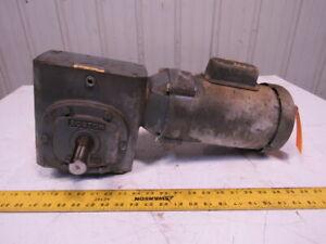 Baldor 34C63-5422 80:1 1/2Hp 115/230V 21.56 RPM LH Output Gear Motor