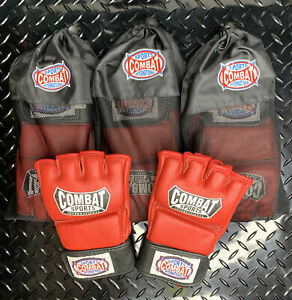 Combat Sports Pro Style MMA Sparring Training Gloves Size:L Open Box Lot of 4