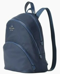 * TEST Karissa Nightcap Nylon Medium Backpack Navy Blue WKRU6586 NWT $279 FS