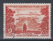 Timbre d' AFRIQUE EQUATORIALE FRANCAISE oblitéré N° Y. & T. 235 cachet rond