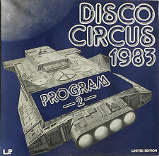 Disco Circus 1983, Programm 2, LP12'' Wise Rec. ltd. Promo F. DJ. only;NEARMINT