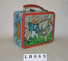 New ListingNfl Quarterback Children's Metal Lunch Box 1964 Aladdin Sports Football