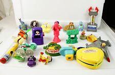 Lot of Collectible Fast Food Cereal Premiums Toys Dragon Star Trek Ninja Turtles
