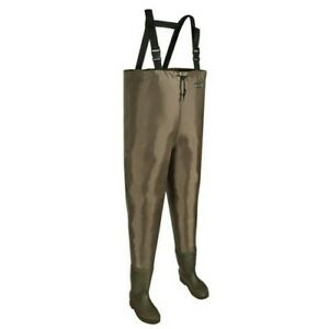 Allen 11867 Brule River Bootfoot Brown Sz 7 Boot Hunting Fishing Chest Wader