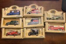 Chevron 8 Commemorative Model Truck Collection Lledo Made in England 1993 NIB