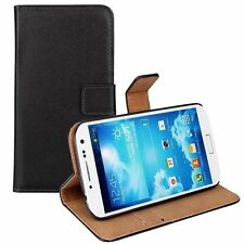Black Flip Leather Stand Wallet Mobile Phone Case Cover For Samsung Galaxy Model