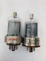 NOS RCA 6146 & JAN-6146W BROWN Base vacuum tubes