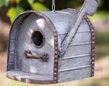 Metal Mailbox Birdhouse All Metal Bird House Gr8 Details & Country Charm