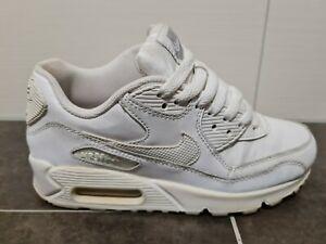 Nike Air Max Turnschuhe Gr. 36, Weiß, Leder, Damen/ Mädchen, Sneakers