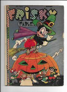 FRISKY FABLES VOL 2 #8 JACK O LANTERN 1946 GD+