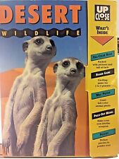 Desert Wildlife Up Close:Book, Board Game, Poster, Press-Out Model Puzzle