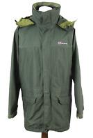 BERGHAUS Gore-Tex Olive Windbreaker Jacket size M