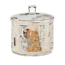 "Goebel Artis Orbis Gustav Klimt Baking Containers "" the Tree of Life "" Glass"
